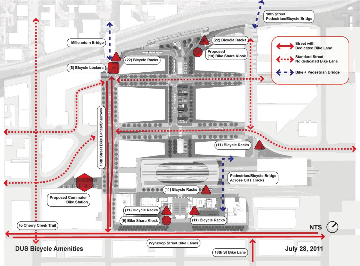 union station denver map Denver Union Station Bicycle Facilities Denverurbanism Blog union station denver map