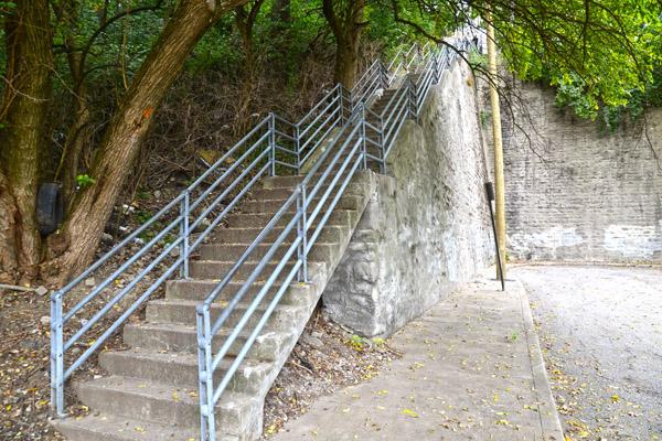 Cincinnati Public Stairs Today