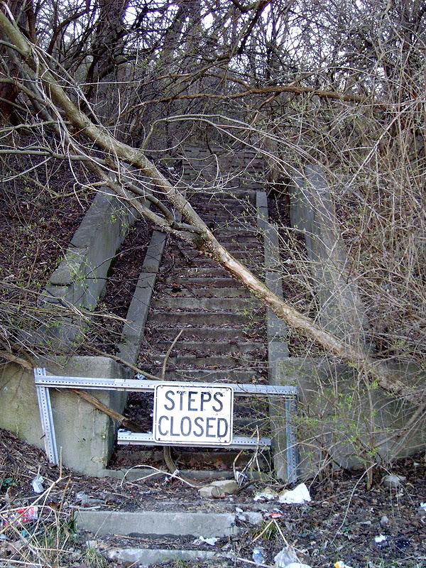 Abandoned Stairs Cincinnati