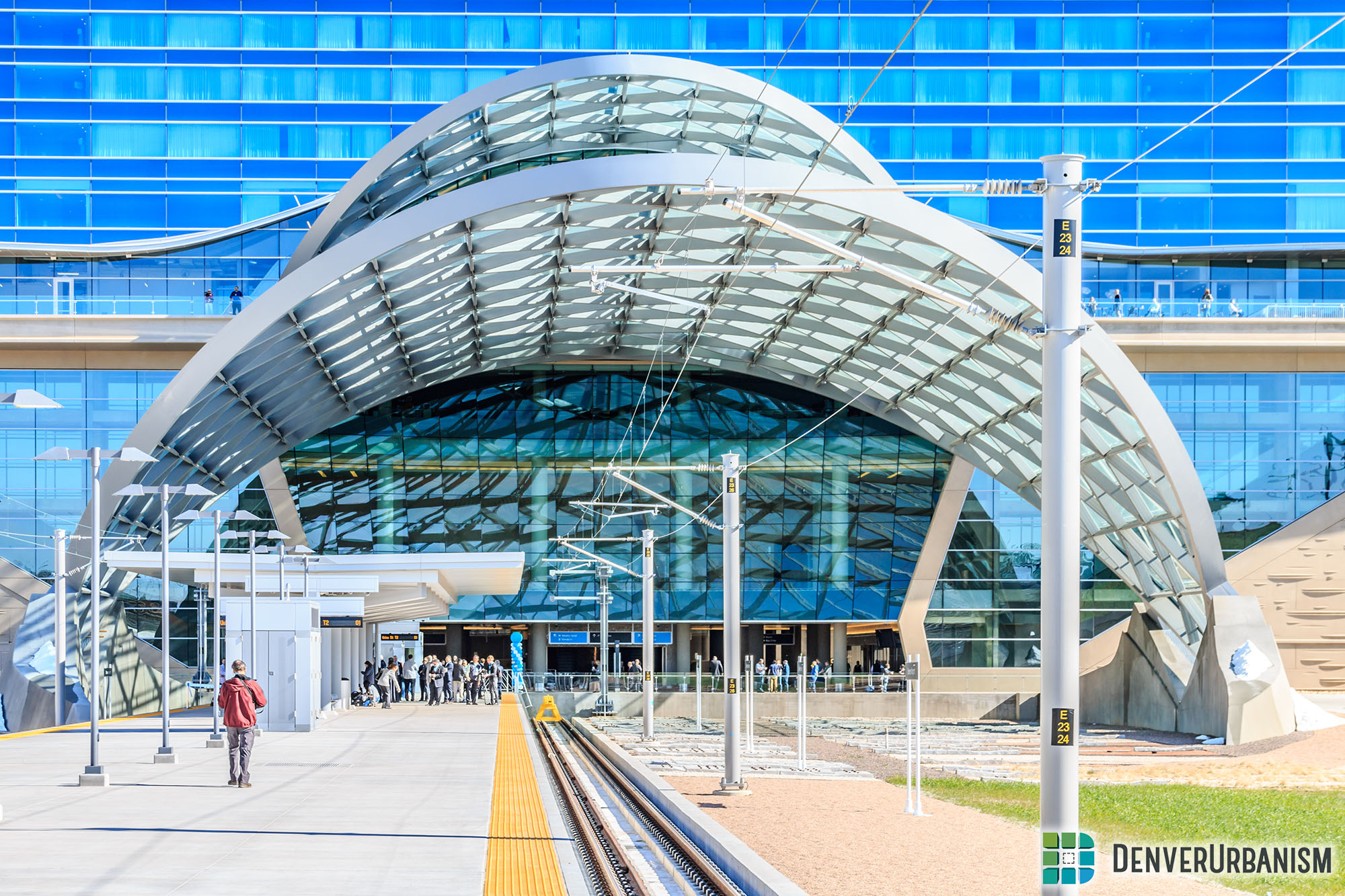 FasTracks Progress: Denver International Airport Station
