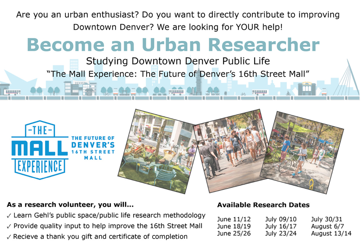The Mall Experience Study – Call for Research Volunteers