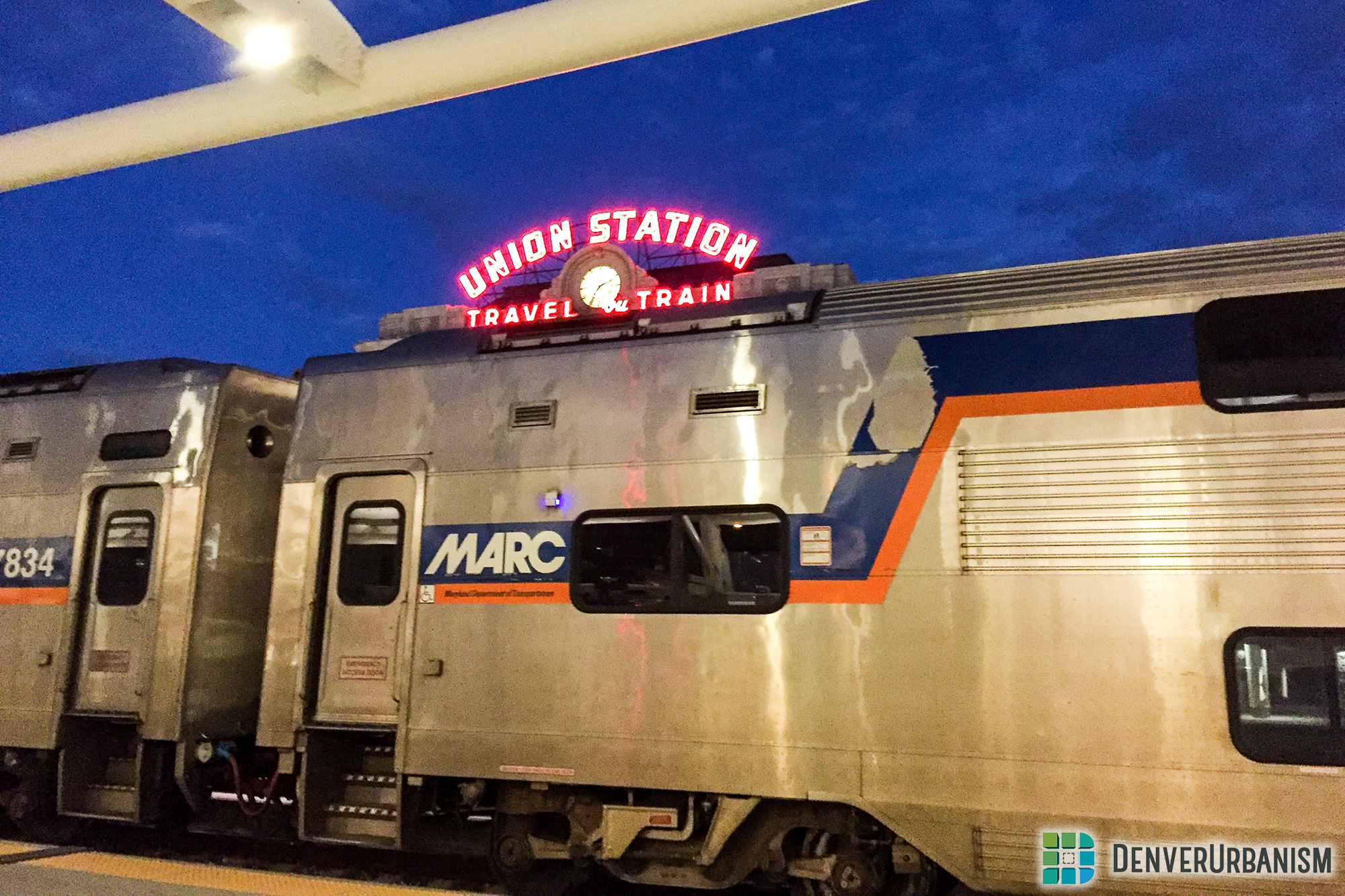 Why Washington, DC's Commuter Train Was Parked at Denver's Union Station