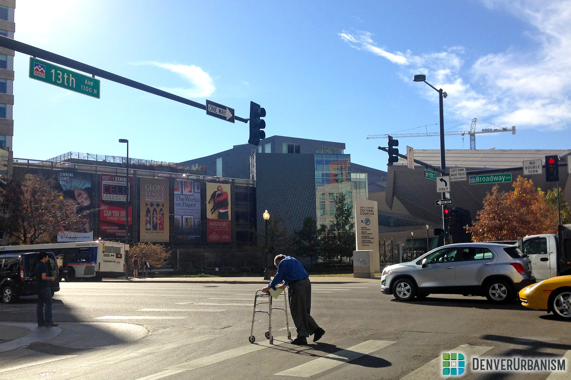 Walking in Denver, Part 3: Beyond the Sidewalk