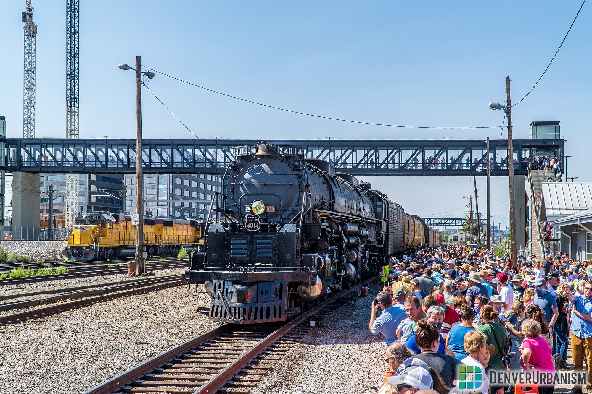 """Union Pacific's """"Big Boy"""" No. 4014 Rolls Into Town Over Labor Day"""
